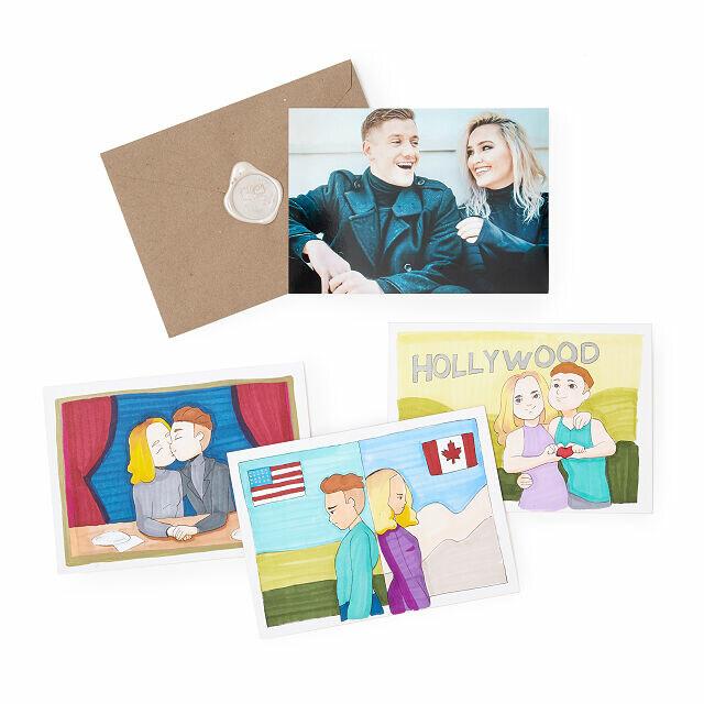 Custom Story Mail Art
