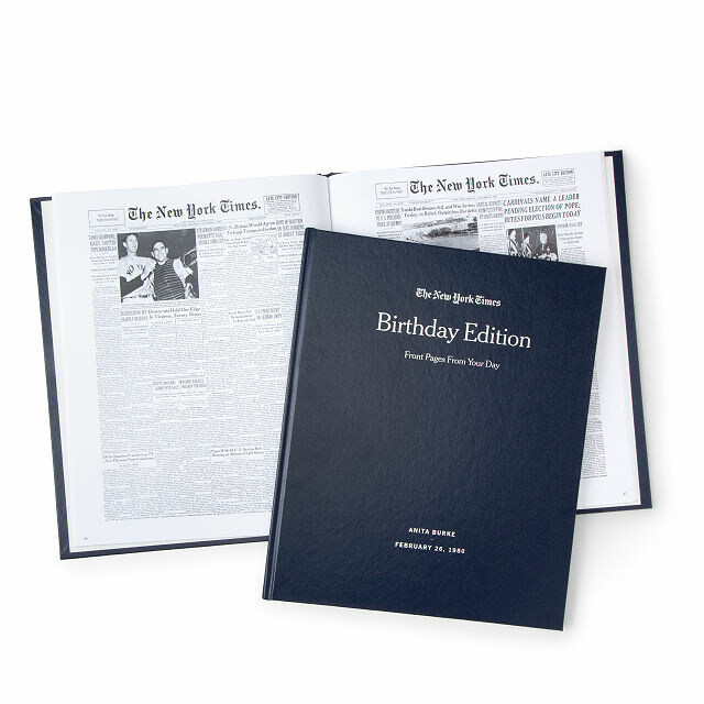 Custom Birthday Book