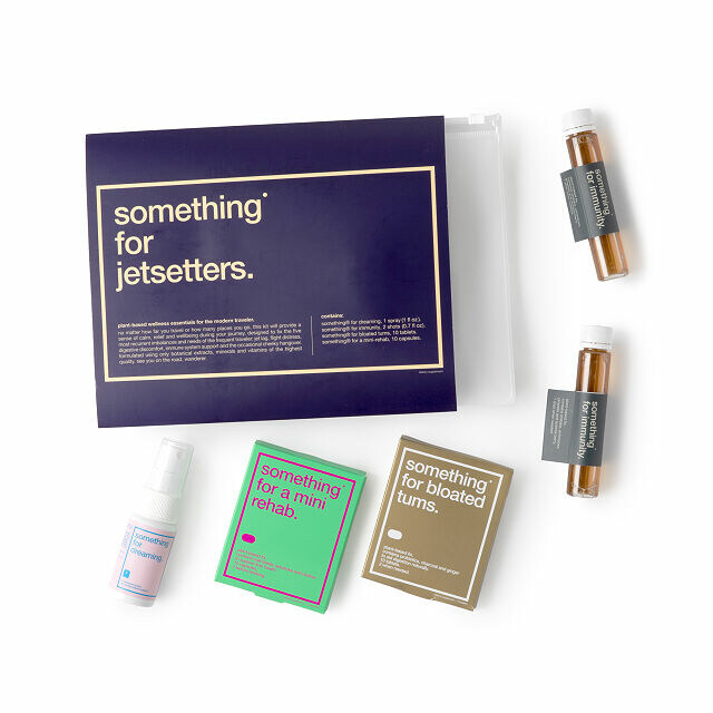 The Essential Traveler Wellness Kit