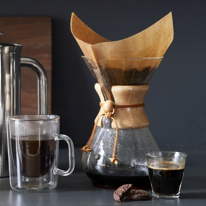Pour-Over Glass Coffee Maker